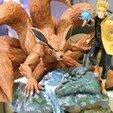 Download STL files Naruto and Kurama, ThunderToy