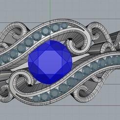 Descargar archivos 3D Anillo de filigrana, regardtabotes