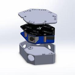 Descargar archivos STL gratis Caja de interfaz Xiegu CE-19, LB4FH