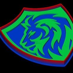 lion 1.jpg Download STL file Lion head cookie cutter • 3D printing object, Lucas_Kranz