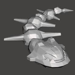 steelix flexi2.jpg Download STL file Flexi pokemon Steelix • 3D printable model, Lucas_Kranz