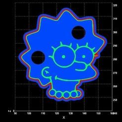 lisa.jpg Télécharger fichier STL L'emporte-pièce des Simpsons Lisa • Plan pour imprimante 3D, Lucas_Kranz