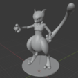 Download 3D printing designs Mewtwo, 3dprintnolimit