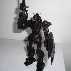 DSC00373.JPG Download STL file Articulated Gundam Robot • Model to 3D print, 3dprintnolimit
