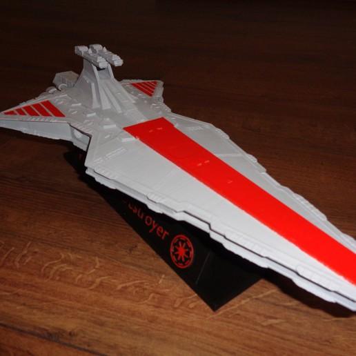 Télécharger fichier 3D Venator star destroyer, 3dprintnolimit