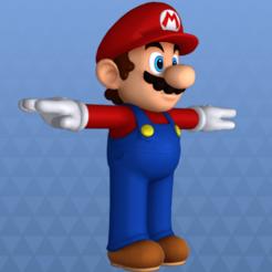 Descargar archivos STL Mario, 3dprintnolimit