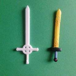 Download free 3D printing models Demon Sword - Finn, Brenlen