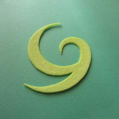 Télécharger fichier 3D gratuit Symbole Kokiri - Pièces imprimées, Brenlen