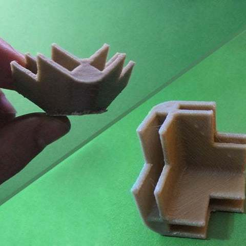 Download free 3D printing models Remixed Corner from idea_beans / Ready to print + 1, Brenlen