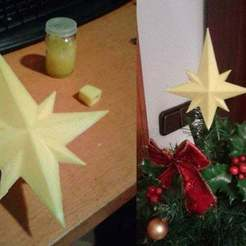 Download free STL files Remixed Star for Christmas tree, Brenlen