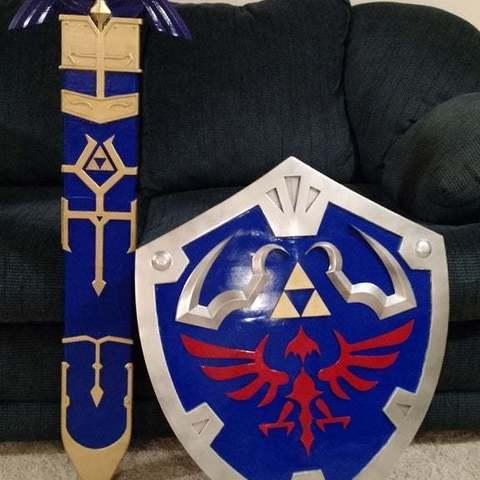 Descargar archivos STL gratis Zelda Master Sword v2 Vaina, Brenlen
