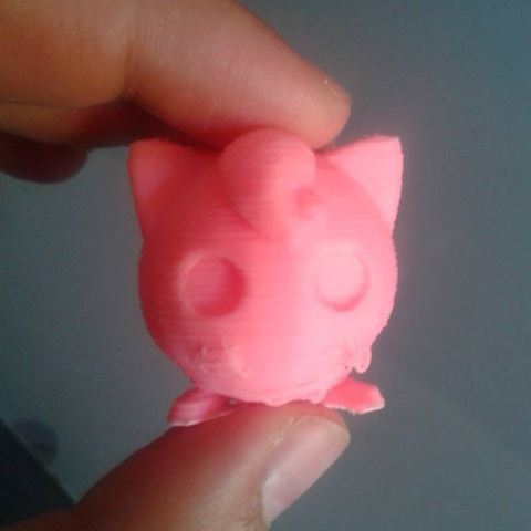 Download free 3D printer templates Jigglypuff, Brenlen
