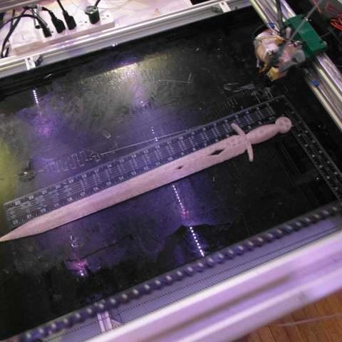 Download free 3D model Sword!, LarryBerstilta