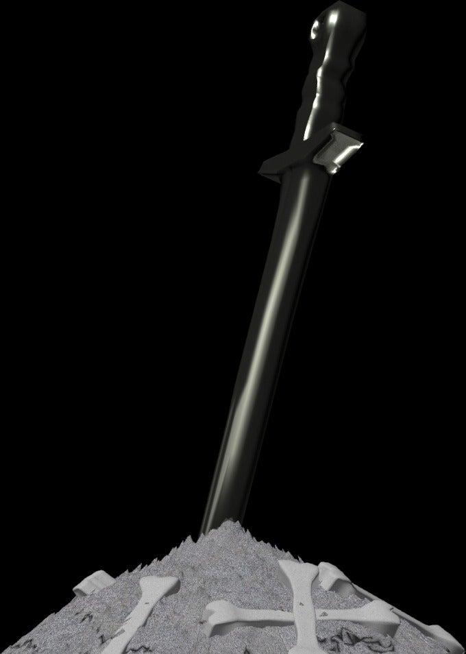 DSBonfire2_display_large.jpg Télécharger fichier STL gratuit Feu de joie des âmes noires • Design imprimable en 3D, LarryBerstilta