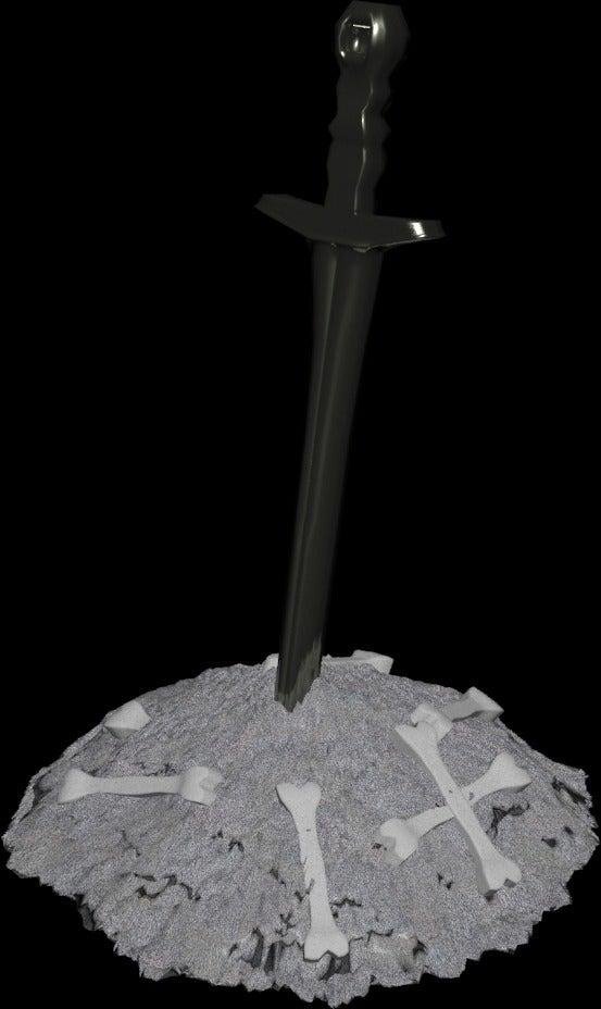 DSBonfire_display_large.jpg Télécharger fichier STL gratuit Feu de joie des âmes noires • Design imprimable en 3D, LarryBerstilta