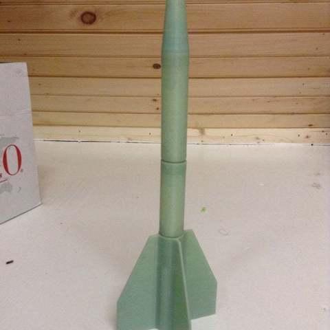 Download free 3D model launchable model whistle rocket, LarryBerstilta
