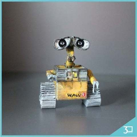 Download free 3D printing templates Wall-E, LarryBerstilta
