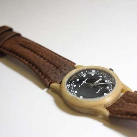 Download free 3D printer designs Wrist Watch Casing, LarryBerstilta