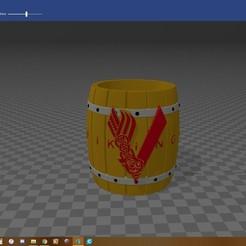 Télécharger fichier imprimante 3D Mate porongo Série Vikings (Vikings), yesomelo
