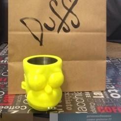Descargar modelos 3D para imprimir Yerba Mate Homero porongo, yesomelo