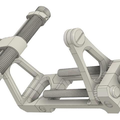 Download 3D printing designs Adjustable handle , Jastrzab