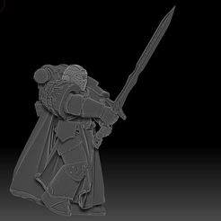 Impresiones 3D gratis Caballero de los Cruzados Oscuros - Edición Clásica, OrionRS