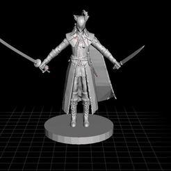 Imprimir en 3D gratis Lady Maria Miniatura 28mm, OrionRS