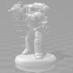 Download free 3D printer model French Space Legionnaire with Wine Launcher, OrionRS
