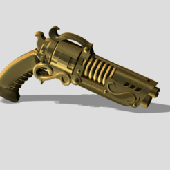 Descargar Modelos 3D para imprimir gratis Revólver AKD del conserje, OrionRS