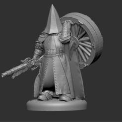 Download free 3D printer designs Bloodborne Executioner Miniature, OrionRS