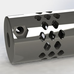 cople2.JPG Télécharger fichier STL Accouplement flexible • Plan à imprimer en 3D, alex_rivosa