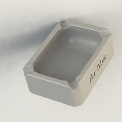 Download free STL files Washable Ashtray, alex_rivosa
