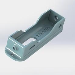 v1.JPG Download STL file Battery Holder 18650 • 3D printer model, alex_rivosa