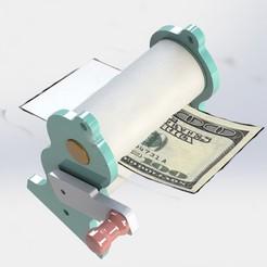 preview3.JPG Download STL file Ticket Printing • 3D printing design, alex_rivosa