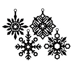 COPO-1.jpg Download STL file snowflakes!!!! 2 • Object to 3D print, cristoferespinozat