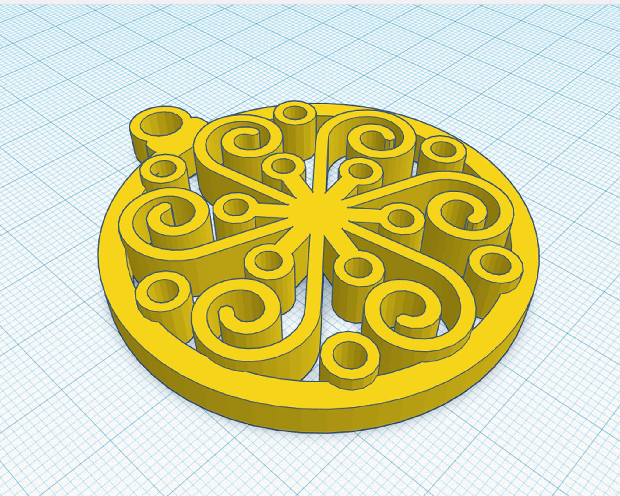 3.jpg Download OBJ file Ornamental Sphere • 3D printable design, cristoferespinozat