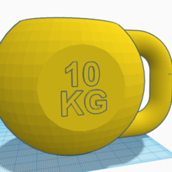 PESARUSA.png Download STL file Mate Russian weight • Model to 3D print, cuate3d