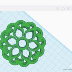 Descargar archivos 3D Cookie Cutter Mandala, cuate3d