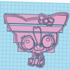 Télécharger plan imprimante 3D Chihuahua cortador de galletas, franckhpl