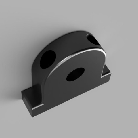 support_axe_Z_2019.jpg Download free STL file Alfawise U30 Z-axis centraliser • Model to 3D print, Nonoar2nimes
