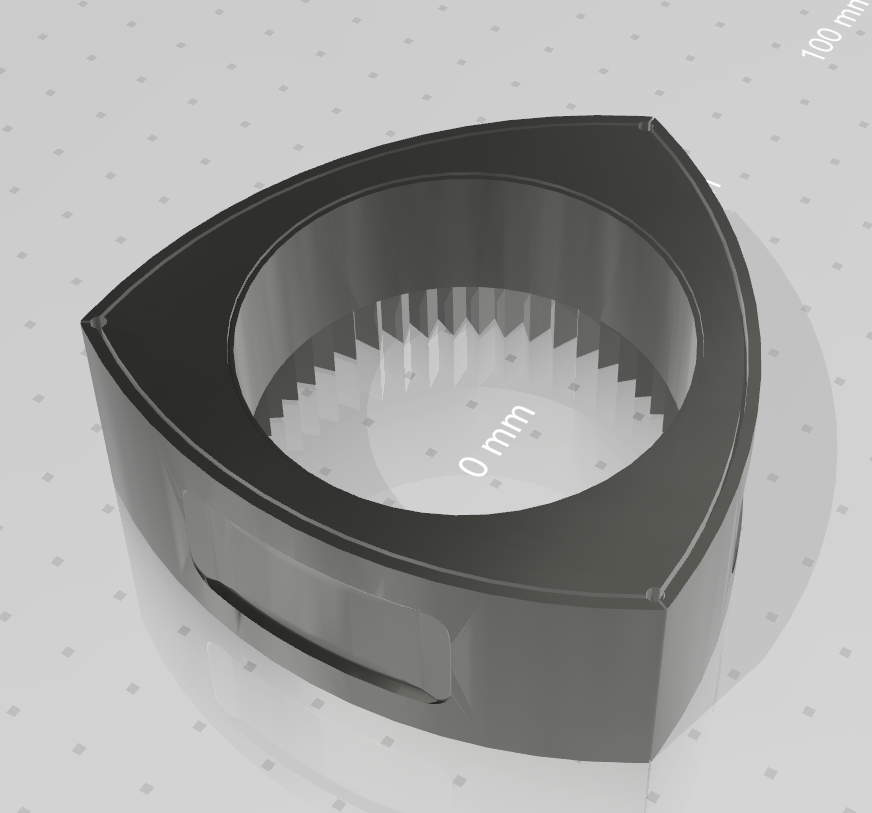 2.png Download free STL file Wankel Rotor • 3D printer object, LikeaCoconut