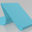 Download free STL file Smartphone Support • Template to 3D print, LikeaCoconut
