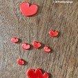 Descargar STL gratis Posavasos - corazones (version2), 3dprintingspirits