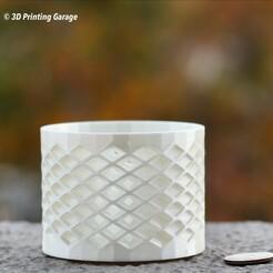 Diamond-Shaped Cup-1.JPG Télécharger fichier STL gratuit Tasse en forme de diamant • Modèle à imprimer en 3D, 3dprintingspirits