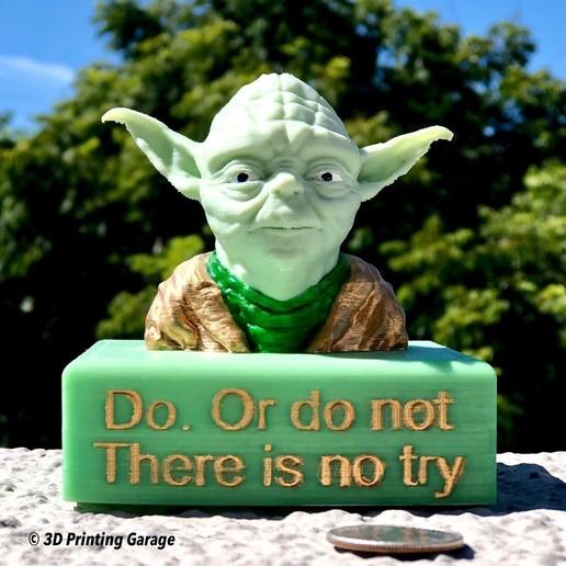 Impresiones 3D gratis Yoda Base / Soporte, 3dprintingspirits