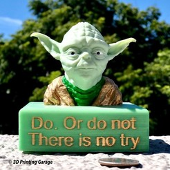 Download free 3D printer templates Yoda Base / Stand, 3dprintingspirits