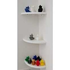 fb2fd043fa689443372e7fbeb08ec6ab_preview_featured.jpg Télécharger fichier STL gratuit Simple Corner Shelf • Design pour imprimante 3D, 3dprintingspirits