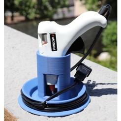 IMG_4319.JPG Download free STL file Hot Glue Gun Stand • 3D printer object, 3dprintingspirits