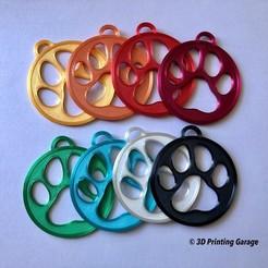 keychain-paw1.JPG Télécharger fichier STL Porte-clés Paw (Version 1) • Design pour imprimante 3D, 3dprintingspirits