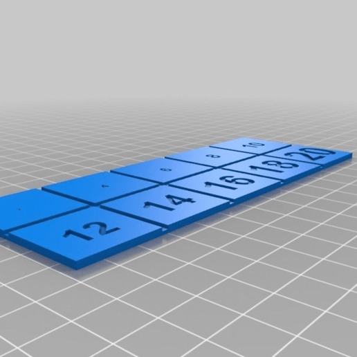 450a787f16caeab35c50133b82fcf9ff.png Download free 3MF file Test for text size in object • 3D print design, 3dprintingspirits